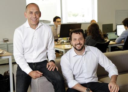 John deTar, GDB Founder e Marcelo Pincherle, GDB General Manager